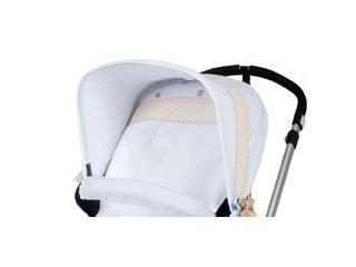 Colección La Toscana. Complementos de canastilla bebé. Sombrilla, neceser, cambiador, funda silla, saco bebe, vestiduras cuna