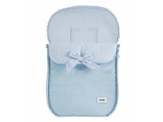 Colección de complementos canastilla para bebé: neceser, funda y saco silla, sombrilla, bolso coche