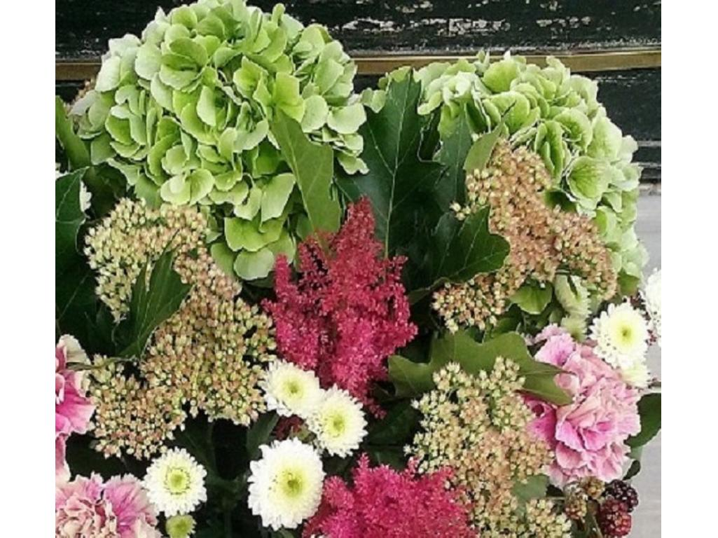 Ramo de flores variadas grande flores y plantas - Ramos de flores grandes ...