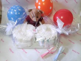 Tartas de Pañales para regalar. Comprar tartas de pañales al mejor precio para regalar.